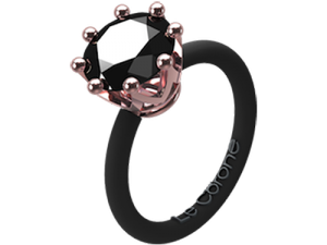 Women's Fashion Le Corone CLASSIC ring black- Online Shop Hermossa.eu