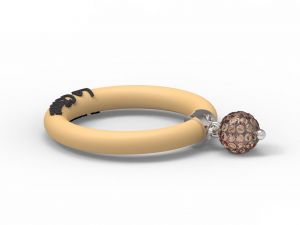 Fashion Ring Le Corone BOLLICINE yellow- Hermossa.eu Online Shop