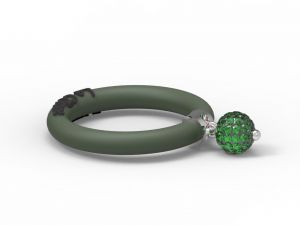 Fashion Ring Le Corone BOLLICINE green Hermossa.eu Online Shop