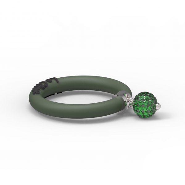 Fashion Ring Le Corone BOLLICINE green Hermossa.eu Online Shop