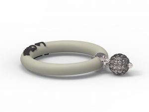 Fashion Ring Le Corone BOLLICINE grey - Hermossa.eu Online Shop