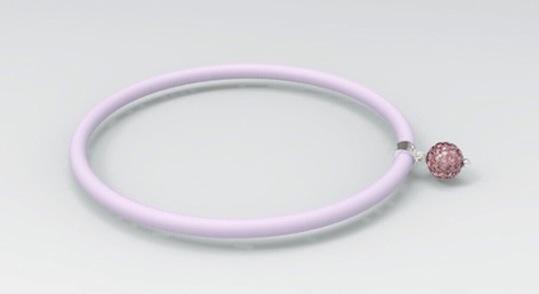 Bracelet Le Corone BOLLICINE in pink color