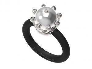 Women's Rings Le Corone, PEARL Classic white Online Store Hermossa.eu