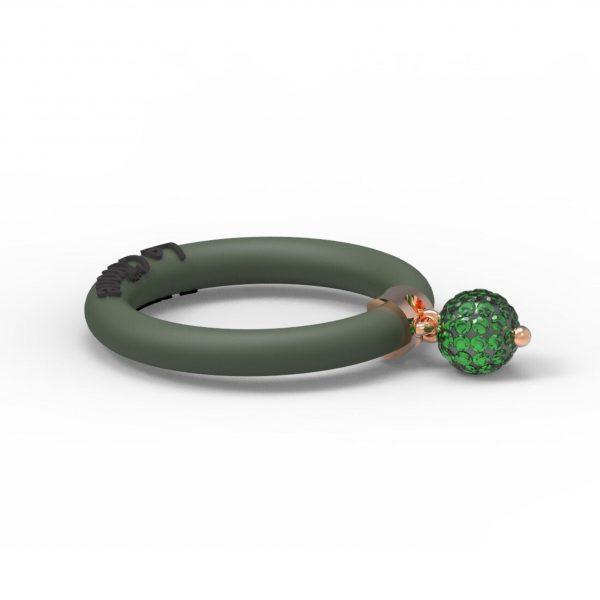 Fashion Ring Le Corone BOLLICINE green - Hermossa.eu Online Shop