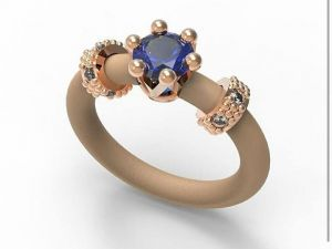 Ring Le Corone MINI blue - Hermossa online shop