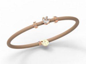 Women Bracelet Le Corone, MINI white- Online Shop Hermossa.eu