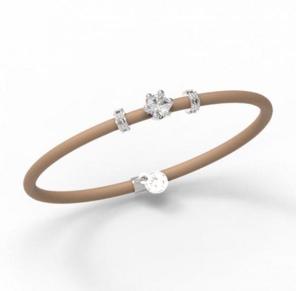 Bracelet Le Corone, MINI white- Online Shop Hermossa.eu