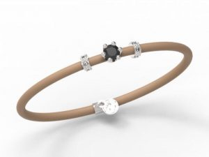 Women Bracelet Le Corone, MINI black- Online Shop Hermossa.eu