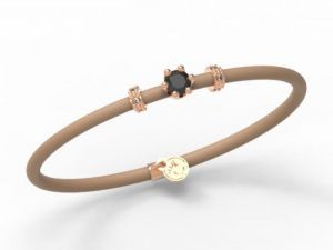 Women Bracelet Le Corone, MINI black- Online Shop Hermossa.eu