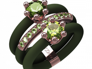 Jewelry Rings Le Corone, INTRIGO, green